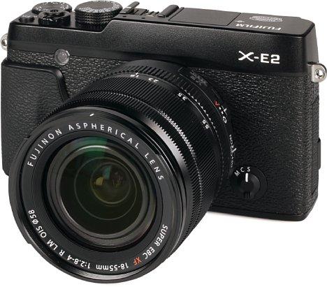 Bild Fujifilm X-E2 mit XF 18-55 mm [Foto: MediaNord]