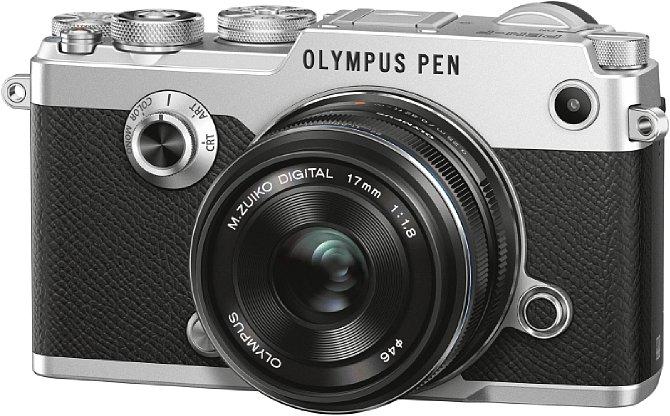 Bild Die Olympus Pen-F ist eine Hommage an die 1963 erschienene Halbformat-SLR Pen F. Sie verfügt als erste spiegellose Systemkamera von Olympus über einen 20 Megapixel auflösenden CMOS-Sensor. [Foto: Olympus]