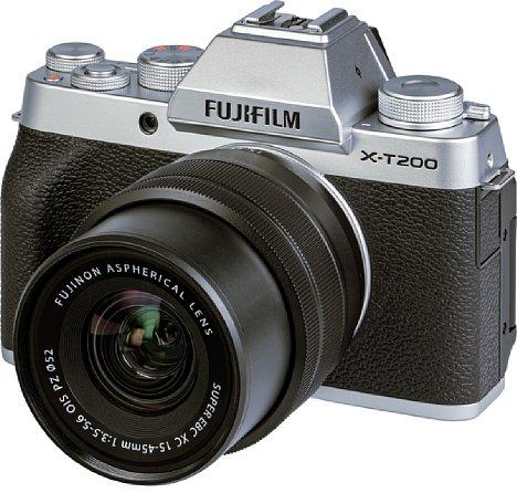 Bild Fujifilm X-T200 mit XC 15-45 mm. [Foto: MediaNord]