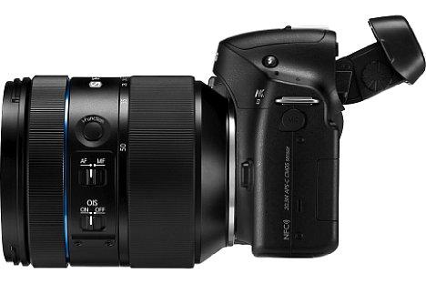 Bild Das Samsung NX Lens 16-50 mm F2-2.8 S ED OIS hingegen ist ein lichtstarkes Standardzoom, das beispielsweise hervorragend zur Samsung NX30 passt. [Foto: Samsung]