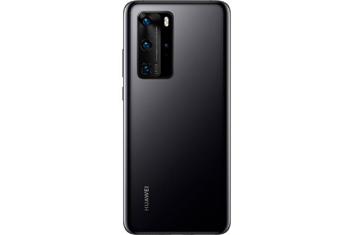 Bild Huawei P40 Pro in Schwarz, Rückansicht. [Foto: Huawei]