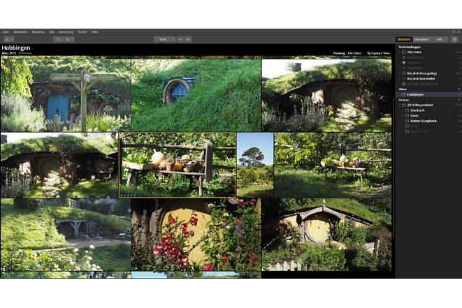 Bild Mit der Alben-Funktion können Bilder thematisch kategorisiert werden. [Foto: MediaNord]