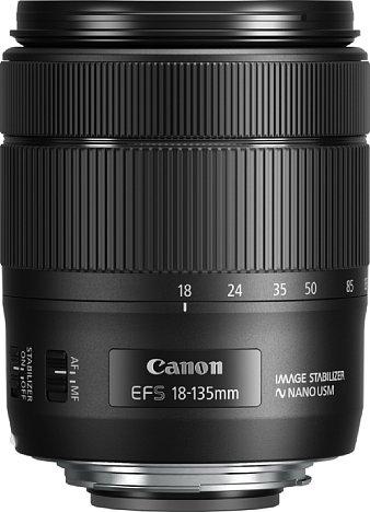 Bild Canon EF-S 18-135 mm 3.5-5.6 IS USM. [Foto: Canon]