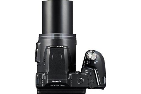 Bild Das 38fache optische Zoom der Nikon Coolpix L840 deckt einen umgerechneten Brennweitenbereich von 22,5 bis 855 Millimeter ab. [Foto: Nikon]