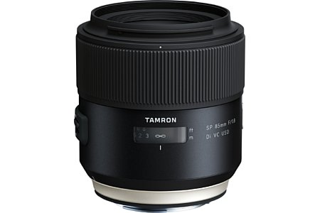Tamron SP 85 mm F1.8 Di VC USD (Model F016). [Foto: Tamron]