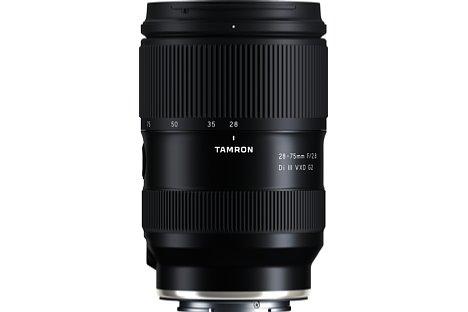 Bild Tamron 28-75 mm F2,8 Di III VXD G2 (A063S). [Foto: Tamron]