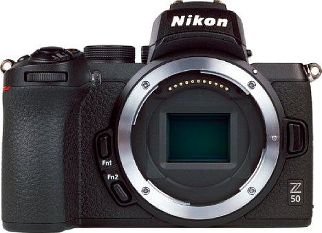 Bild Im Verhältnis zur Kamera und auch zum Sensor wirkt das Z-Bajonett an der Nikon Z 50 riesig. [Foto: MediaNord]
