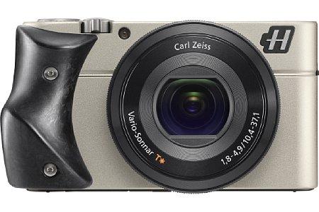 Bild Die seit Sommer 2013 erhältliche Hasselblad Stellar basiert auf der Sony RX100 und wird mit sieben verschiedenen Griffmaterialien angeboten. [Foto: Hasselblad]