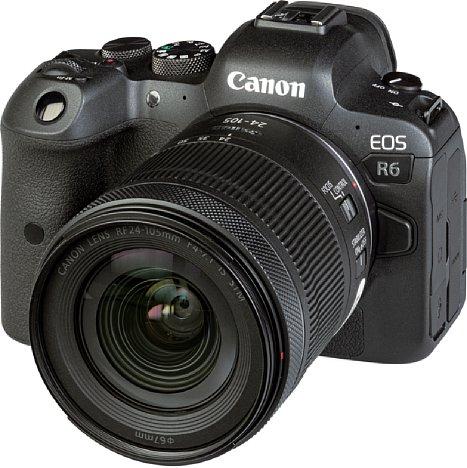 Bild Die Canon EOS R6 ist eine spiegellose Mittelklasse-Vollformatkamera, die vor allem mit ihrer schnellen Serienbildgeschwindigkeit beeindruckt. [Foto: MediaNord]