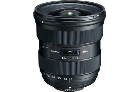 Bild Auch die Nikon-Version des Tokina atx-i 11-16 mm F2.8 CF verfügt über einen integrierten Fokusmotor und funktioniert damit auch an Nikon-DSLRs, die keinen mechanischen Fokusanschluss mehr besitzen. [Foto: Tokina]
