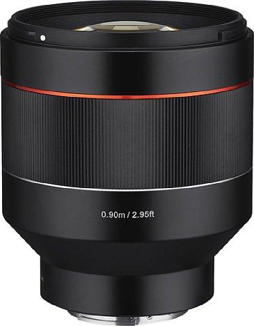 Bild Mit dem preisgünstigen AF 85 mm F1.4 FE will Samyang den teuren Porträtobjektiven der Premium-Hersteller Konkurrenz machen. [Foto: Samyang]