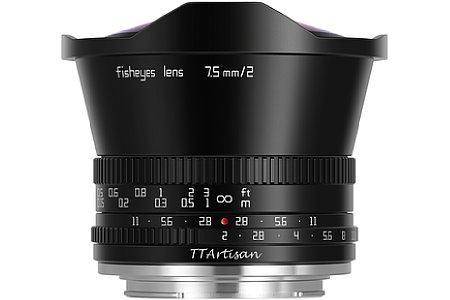 TTArtisan 7,5 mm f/2.0 Fisheye. [Foto: TTArtisan]