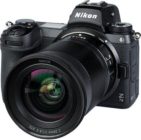 Bild Eine ED-Linse sowie vier asphärische Linsen sollen beim Nikon Z 24 mm 1:1.8 S für eine hohe Bildqualität sorgen. Tatsächlich sind die optischen Fehler minimal und die Auflösung im Bildzentrum ab Offenblende und am Bildrand ab F4 hoch. [Foto: MediaNord]
