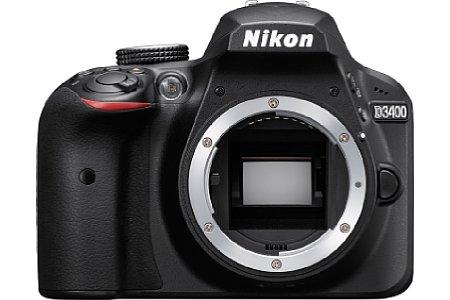 Bild Der APS-C-Sensor der Nikon D3400 bringt es auf 24 Megapixel Auflösung, die Maximalempfindlichkeit liegt nun bei ISO 25.600. [Foto: Nikon]