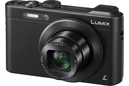 Bild Die Panasonic Lumix LF1 wartet mit einem recht großen 1/1,7-Zoll-Sensor und moderaten 12 Megapixeln auf. [Foto: Panasonic]