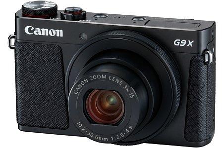 """Bild Im kompakten Gehäuse der Canon PowerShot G9 X Mark II stecken ein 13,2 mal 8,8 Millimeter großer 1""""-Sensor mit 20 Megapixeln Auflösung sowie ein F2-4,9 lichtstarkes Dreifachzoom von 28 bis 84 Millimeter entsprechend Kleinbild. [Foto: Canon]"""
