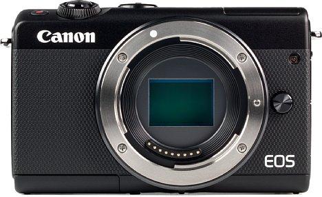 Bild Der APS-C-CMOS-Sensor der EOS M100 besitzt eine Auflösung von 24,2 Megapixeln. [Foto: MediaNord]