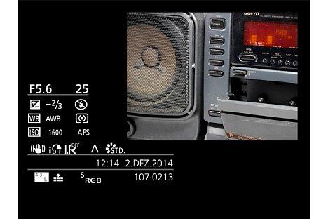 Bild Die Panasonic Lumix DMC-GM5 zeichnet standardmäßig im Seitenverhältnis von 4:3 auf. [Foto: Martin Vieten]
