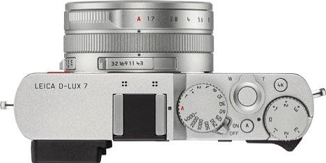 """Bild Das """"analoge"""" Bedieninterface passt viel besser zur Leica D-Lux 7 als zur Panasonic LX100 II. [Foto: Leica]"""