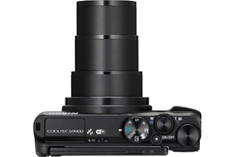 Bild Die Nikon Coolpix S9900 bietet ein optisches 30-fach-Zoom von umgerechnet 25 bis 750 Millimeter Brennweite samt Bildstabilisator. [Foto: Nikon]