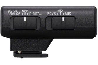 Bild Sony ECM-W2BT Wireless Mikrofon Empfänger. [Foto: Sony]
