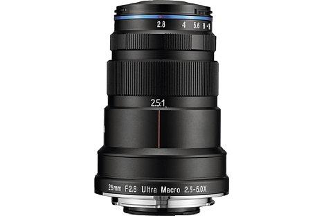 Bild Laowa 25 mm 2.8 Ultra Macro 2.5-5x. [Foto: Laowa]