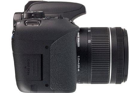 Bild ... als auch bei der EOS 800D an der gleichen Position. [Foto: MediaNord]