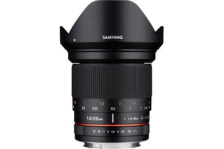 Samyang 20 mm F1.8 ED AS UMC Fotoobjektiv. [Foto: Samyang]