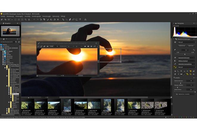 Bild Mit dem Ausbesserungswerkzeug lassen sich kleine Bildfehler mit Hilfe von Retuschewerkzeugen beseitigen. [Foto: MediaNord]