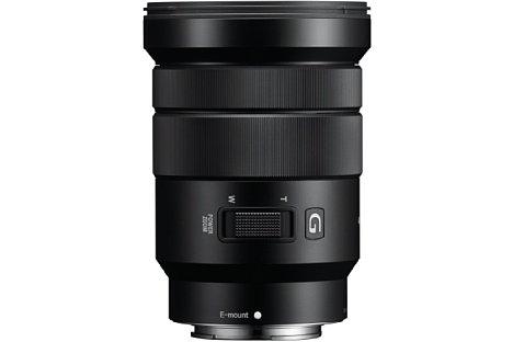 Bild Das Sony E PZ 18-105 mm F4 G OSS (SEL-P18105G) ist mit einem optischen Bildstabilisator sowie einem Motorzoom ausgestattet, womit es sich besonders gut für Videoaufnahmen eignet. [Foto: Sony]