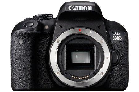 Bild Die Canon EOS 800D verfügt wie die 77D über einen 24 Megapixel auflösenden Dual-Pixel-Sensor, der einen schnellen Autofokus im Live-View ermöglicht. [Foto: Canon]