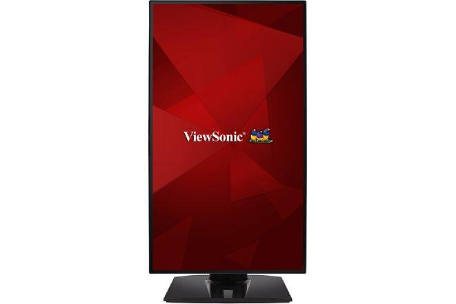 Bild Mit der Pivot-Funktion kann der ViewSonic VP2768A einfach und schnell ins Hochformat gedreht werden, egal zu welcher Seite. [Foto: ViewSonic]