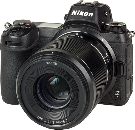 Bild Das Nikon Z 50 mm F1.8 S ist wie die Nikon Z 7 gegen Staub und Spritzwasser geschützt. [Foto: MediaNord]