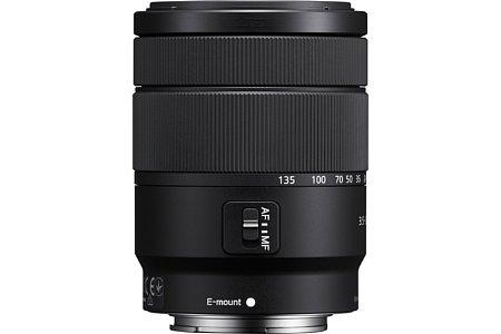 Sony E 18-135 mm F3.5-5.6 OSS (SEL18135). [Foto: Sony]