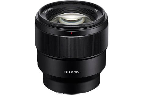 Bild Das Sony FE 85 mm F1,8 (SEL-85F18) ist für weniger als 600 Euro zu haben und bietet dennoch ein robustes Metallgehäuse. [Foto: Sony]