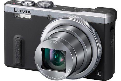 Bild Die Panasonic Lumix DMC-TZ61 besitzt nicht nur ein neues Gehäusedesign, sondern auch zahlreiche andere Neuerungen: Etwa den Multifunktins-Objektivring und das optische 30-fach-Zoom von 24-720 mm (KB). [Foto: Panasonic]