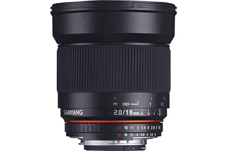 Samyang 16 mm F2 ED AS UMC CS. [Foto: Samyang]