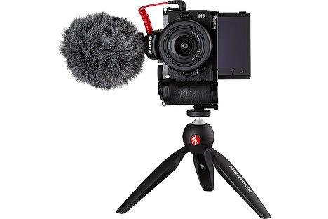 Bild Auch im Hochformat lässt sich die Z 50 zum Vlogging einsetzen. [Foto: Nikon]