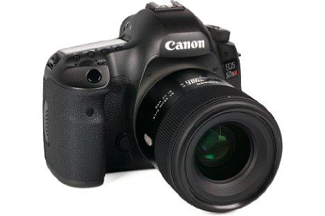 Bild Optische Fehler zeigt dasTamron SP 45 mm F1.8 Di VC USD an der Canon EOS 5DS R kaum. Trotz fehlender digitaler Korrekturdaten sind die Verzeichnung und Farbsäume äußerst gering. [Foto: MediaNord]