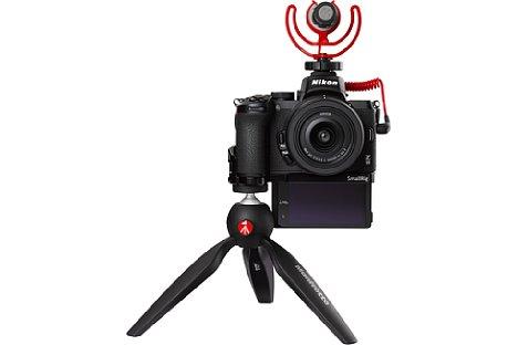 Bild Nikon Z 50 DX 16-50 mm VR Vlogger Kit. [Foto: Nikon]