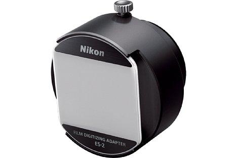 Bild Der Nikon ES-2Filmdigitalisierungsadapter ist eine recht kleine Einheit. [Foto: Nikon]