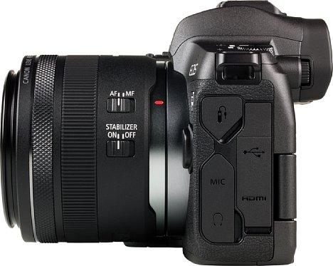 Bild DasCanon RF 35 mm 1.8 IS STM bietet mit einem Bildstabilisator, Autofokus und einem zusätzlichen Einstellring viel Ausstattung. [Foto: MediaNord]