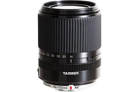 Bild Das Tamron 14-150mm F3.5-5.8 Di III für die spiegellosen Systemkameras von Panasonic und Olympus muss ohne Bildstabilisierung auskommen. [Foto: Tamron]