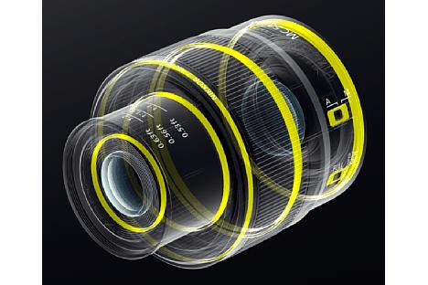 Bild Zahlreiche Dichtungen sorgen beim Nikon Z MC 50 mm F2.8 für einen Spritzwasser- und Staubschutz. [Foto: Nikon]