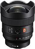 Die Streulichtblende ist integraler Bestandteil des Sony FE 14 mm F1.8 GM (SEL-14F18GM). Die stark gewölbte Frontlinse ist dank Fluorbeschichtung schmutzabweisend, auch Dichtungen zum Spritzwasserschutz fehlen nicht. [Foto: Sony]