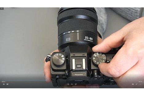 Bild In separaten Einzelvideos wiederholt Uli Soja die besprochenen Einstellungen noch einmal für einzelne Kameratypen, hier die Panasonic Lumix S5. [Foto: MediaNord]