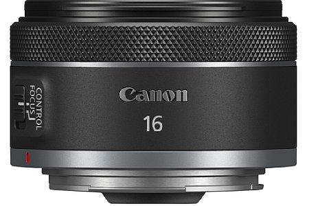 Canon RF 16 mm F2.8 STM. [Foto: Canon]
