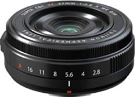 Bild Trotz seiner kompakten Abmessungen verfügt das Fujifilm XF 27 mm F2.8 R WR über ein wetterfestes Gehäuse. [Foto: Fujifilm]