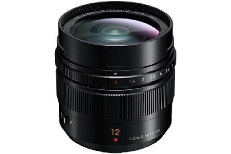 Panasonic Leica DG Summilux 12 mm F1.4 Asph. [Foto: Panasonic]