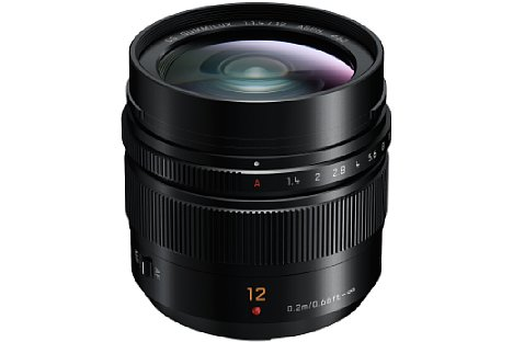 Bild Das Panasonic Leica DG Summilux 12 mm F1.4 Asph. besitzt eine konkurrenzlose Lichtstärke. [Foto: Panasonic]